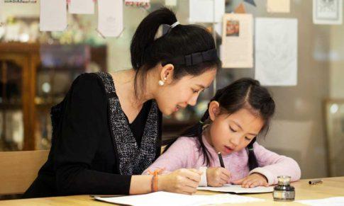 【如何幫助孩子把字寫好看】矯正寫字,步驟與方法。
