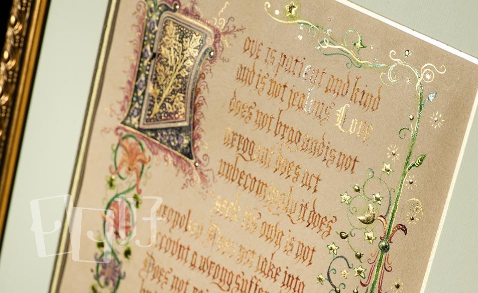 >C3 西洋書法:中世紀手抄羊皮紙藝術班