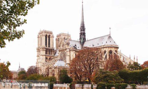 【巴黎聖母院】法國文化的原點,大教堂建築外觀特色賞析